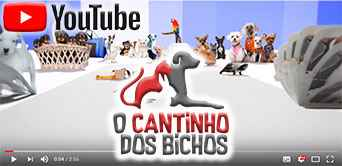 Canal do youtube do cantinho dos bichos